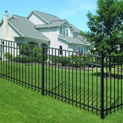 ActiveYards Aluminum Fence - Granite