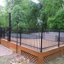 ActiveYards Aluminum Fence - ActiveYards Black Aluminum Pool Fence