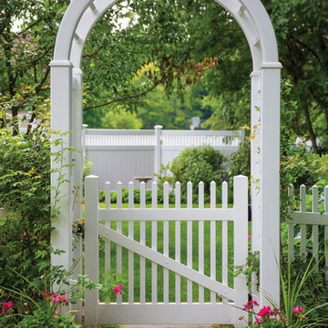 ActiveYards Vinyl Fence Arbor and Gate