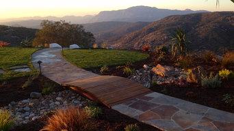 Alpine- back yard