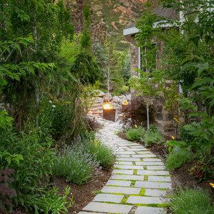 Inredning av en klassisk trädgård