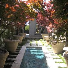 Mediterranean Landscape by Troy Rhone Garden Design