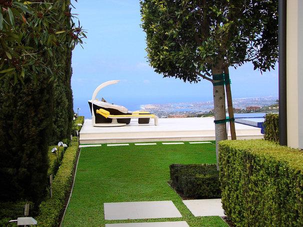 Modern Landscape by AMS Landscape Design Studios, Inc.