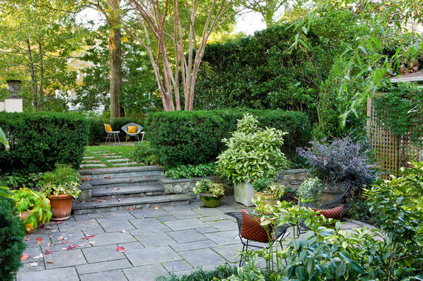 Traditional Garden by Scott Brinitzer Design Associates