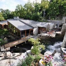 Eclectic Landscape by Brydges Landscape Architecture