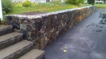 Andover MA Fieldstone Wall