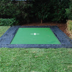In Ground Trampoline Exterior Grand Rapids By Maxair Trampolines