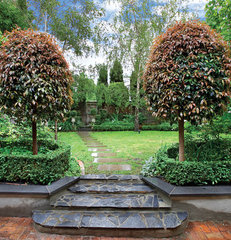 "traditional landscape Andrew Renn Design, ""Beautiful Gardens Of Melbourne Australia"""