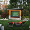 Double Take: This Outdoor Screen Makes Game Day a Snap