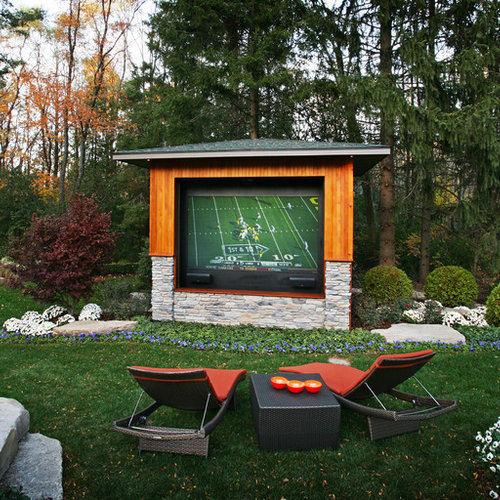 8 Backyard Ideas To Delight Your Dog: Outdoor Tv