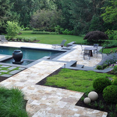 Transitional Landscape by McHale Landscape Design, Inc.