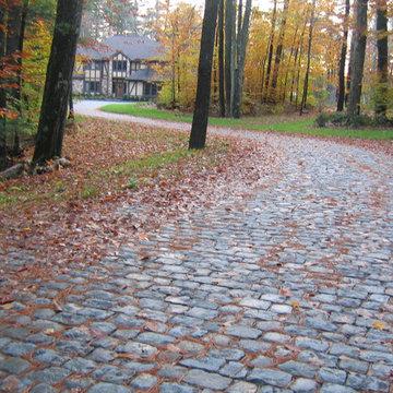 Antique Granite Cobblestone, upstate New York