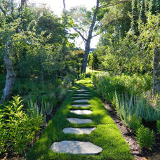 Traditional Landscape by Sasco Farms Landscape Design