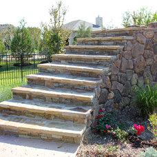 Traditional Landscape by One Specialty Landscape Design, Pools & Hardscape