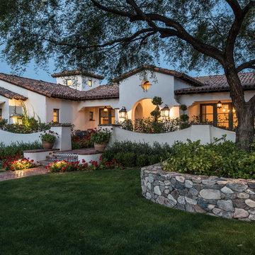 Arcadia Spanish Colonial | Front Yard