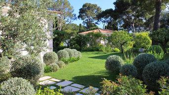 Architecte Paysagiste Cap Ferrat | Composition méditerranéenne majestueuse