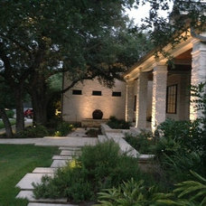 Contemporary Landscape by Outdoor Lighting Perspectives of Austin