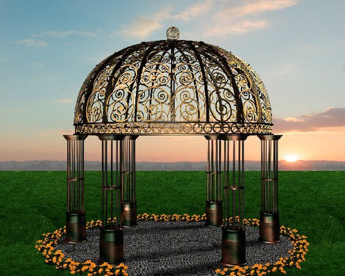 Iron Gazebo Home Design Ideas Pictures Remodel And Decor