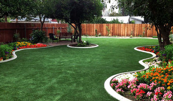 Artificial Grass Back Yards