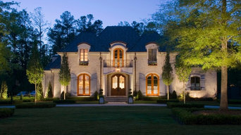Artistic Night Lighting ~ Affordable Lawn Sprinklers and Lighting