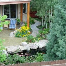 Traditional Landscape by Dave Johnson, Landscape Architect, LLC