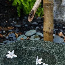 Asian Landscape by Ginkgo Leaf Studio