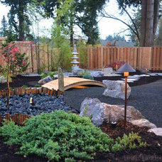 Asian Landscape by Lewis Landscape Services, Inc.