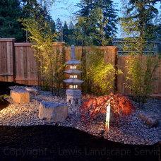 Asian Landscape by Lewis Landscape Services, Inc.