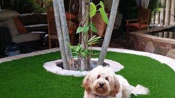 Asian garden / pet friendly