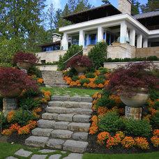 Asian Landscape by jonathan craggs garden design