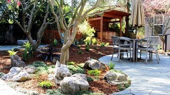 Asian-inspired Shade Garden
