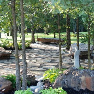 Asian Modern Healing Garden