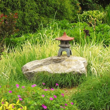 Asian Terrace Garden in Bristol, Virginia