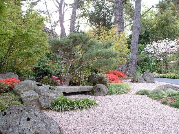 Asiatisch Garten by Kikuchi + Kankel Design Group