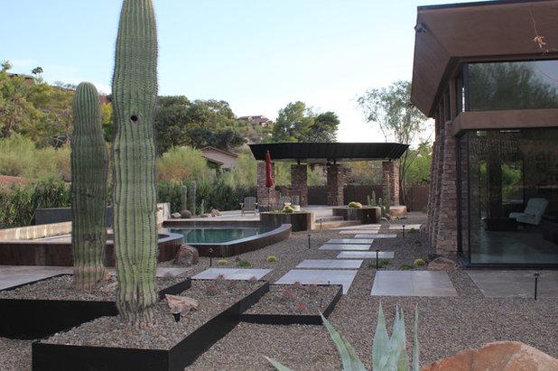 Southwestern Landscape by California Pools & Landscape