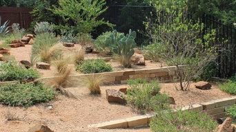 Austin Native Landscaping - Portfolio - Terraced Texas Native Plants Landscaping