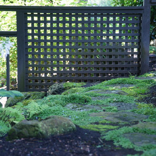 Inspiration for a modern landscaping in Portland.