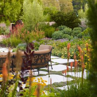 Mediterraner Garten Hinter Dem Haus Ideen Für Die Gartengestaltung