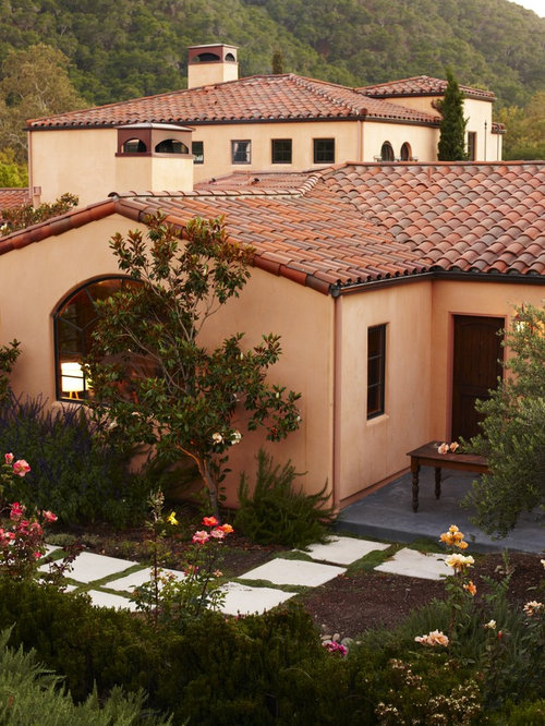 Tile roof houzz for Mediterranean stucco