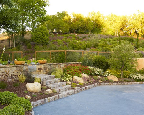 75 Trendy San Luis Obispo Retaining Wall Design Ideas | Houzz Design ...
