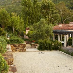 Foto di un giardino mediterraneo