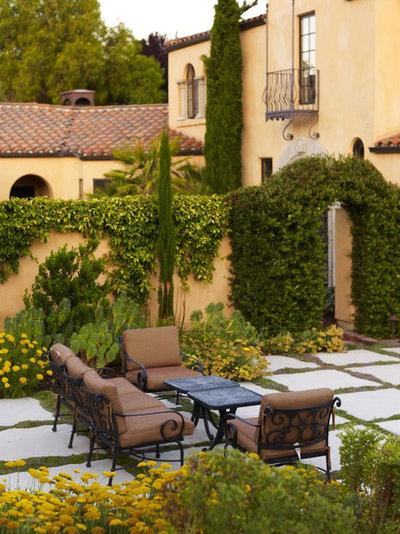 Mediterranean Garden by Jeffrey Gordon Smith Landscape Architecture