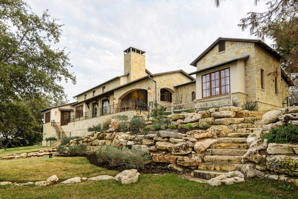 Rustic Exterior by Design Visions of Austin