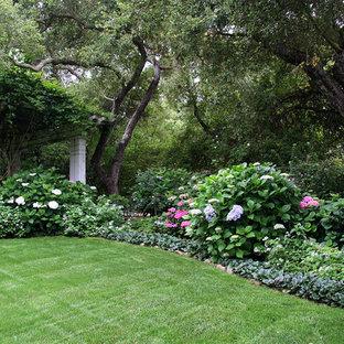 Esempio di un giardino classico in ombra dietro casa