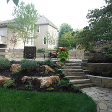 Traditional Landscape by High Prairie Landscape Group