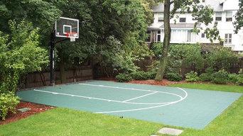 Backyard Basketball Courts in Lexington