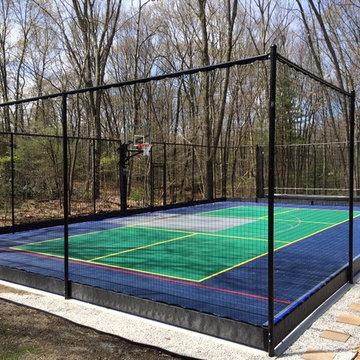 Backyard Basketball Courts in Needham