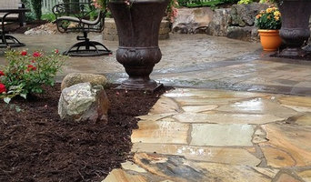 Backyard Brick Paver Patio with Fire Pit in Warsaw, IN