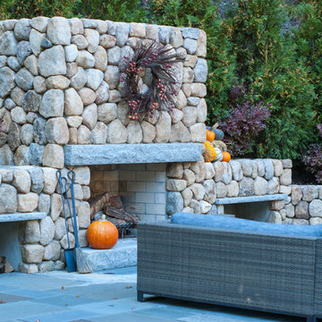 Backyard Carved From Stone
