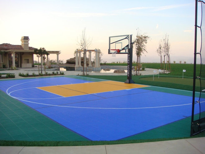 Traditional Landscape by Sport Court of Southern California (Santa Barbara)